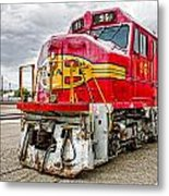 Santa Fe 95 In Retirement Metal Print