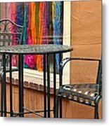 Santa Fe Cafe And Boutique Metal Print