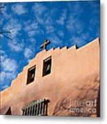 Santa Fe Church Metal Print