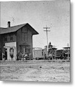 Santa Fe Railway, 1883 Metal Print