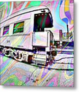 Santa Fe Train Number 37 Metal Print