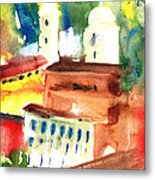 Santa Margherita In Italy 13 Metal Print