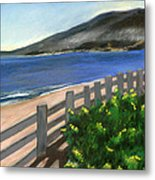 Santa Monica Overlook Metal Print