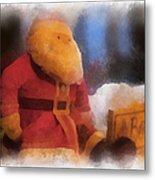 Santa Photo Art 07 Metal Print