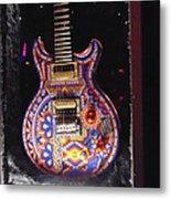 Santana Guitar Metal Print