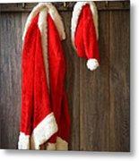 Santa's Coat Metal Print