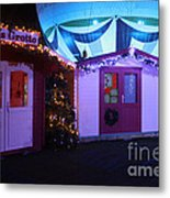 Santa's Grotto In The Winter Gardens Bournemouth Metal Print