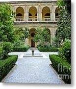 Santo Domingo Courtyard Metal Print