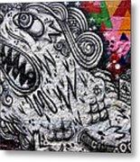 Sao Paulo Graffiti Vii Metal Print by Julie Niemela