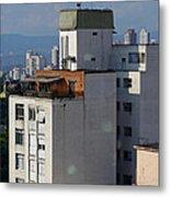Sao Paulo Penthouse Metal Print