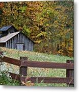 Sap Barn Or House Metal Print