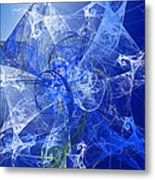 Sapphire In Blue Lace Metal Print