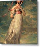 Sarah Goodwin Barrett Moulton Pinie 1794 Metal Print