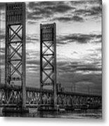 Sarah Long Bridge  Metal Print