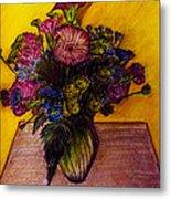 Sarah's Sweet 16 Flowers Metal Print