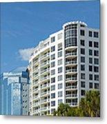 Sarasota Architecture 1 Metal Print