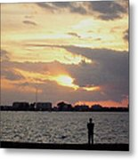 Sarasota 's Sunset Metal Print