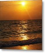 Sarasota Sunset Florida Metal Print