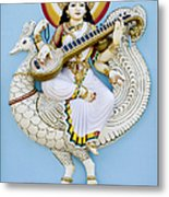 Saraswati Metal Print by Tim Gainey
