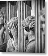 Sarcophagus Of The Crying Women II Metal Print