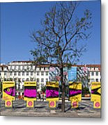 Sardine Outdoor At Pedro Iv Square Best Known As Rossio Square Metal Print