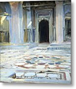 Sargent's Pavement In Cairo Metal Print