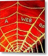 Satan's Web Metal Print