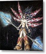 Satari God Of War And Battles Metal Print