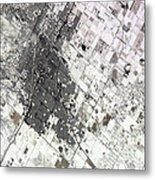 Satellite View Of Amarillo, Texas Metal Print