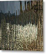 Satin Silk And Moire Abstract - Vertical Metal Print