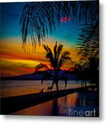 Saturated Mexican Sunset Metal Print