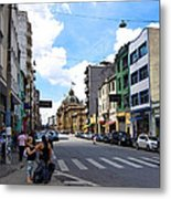 Saturday Afternoon In Sao Paulo Metal Print