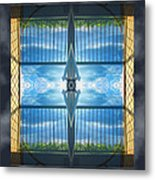 Saturday Morning View Metal Print by Wendy J St Christopher