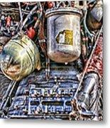 Saturn V J-2 Rocket Engine Metal Print