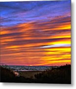 Sauble Sunset Metal Print
