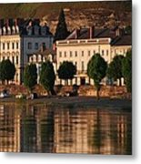 Saumur Reflected Metal Print