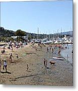 Sausalito Beach Sausalito California 5d22696 Metal Print by Wingsdomain Art and Photography