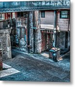 Savannah Alley Metal Print