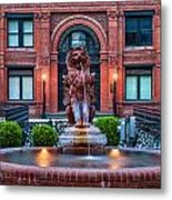 Savannah Cotton Exchange Savannah Georgia Metal Print