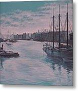 Savannah Harbor 1900 Metal Print