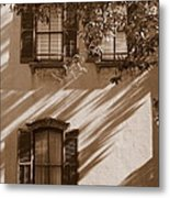 Savannah Sepia - Windows Metal Print
