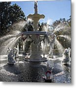 Savannah Winter Dream Metal Print