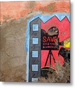 Save Cinema In Morocco Metal Print