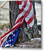 Save The Flag Metal Print