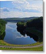 Saville Dam Scenic Metal Print