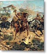 Saving The Guns At Colenso, 1899 Metal Print