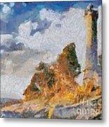 Savudrija Lighthouse Metal Print