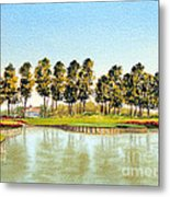 Sawgrass Tpc Golf Course 17th Hole Metal Print