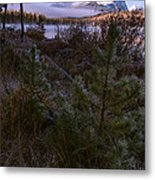 Sawtooth Mountain Metal Print