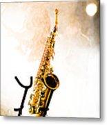 Saxophone  Metal Print by Bob Orsillo